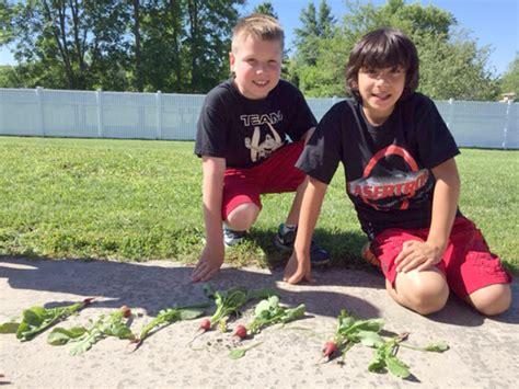 Garden Road Elementary by Rainbow Garden Inspires Students At Errick Road School