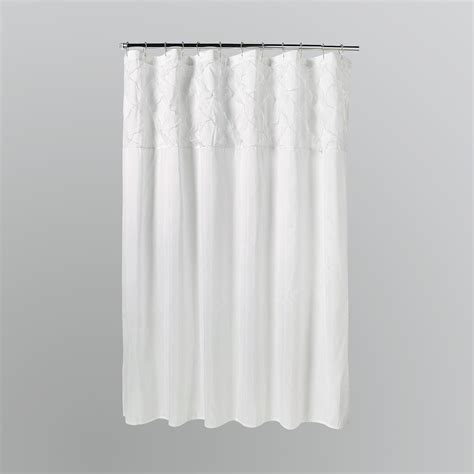 Kmart White Sheer Curtains by Lush Decor Meadow Shower Curtain