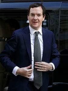 Chancellor of the Exchequer George Osborne Arrives in ...