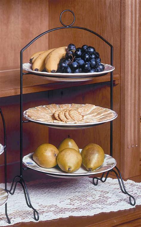 tier pie stand creative home   tier dinner plate rack
