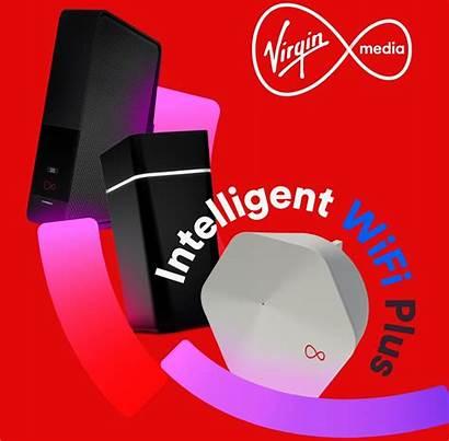 Virgin Wifi Intelligent Plus Plume Launch Powered