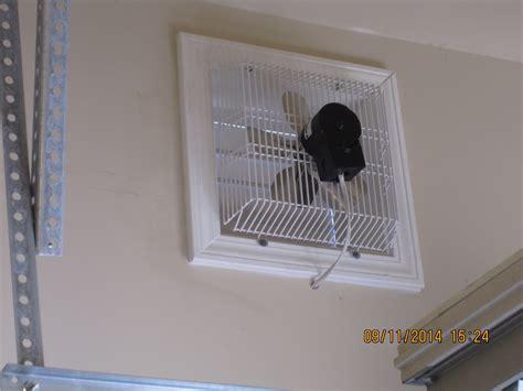 home garage exhaust fan gft 16 through wall garage fan cool my garage