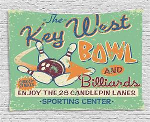 Vintage Tapestr... Bowling Game Quotes