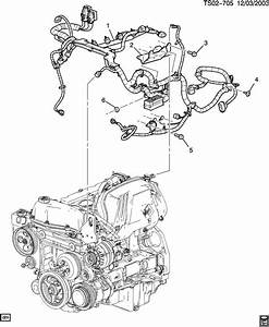 Chevrolet Colorado Bracket  Chassis  Engine Wiring Harness