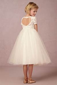 portia flower girl dress with heart cutout detail from With little girl in wedding dress pinterest