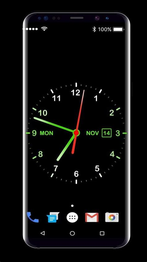 Digital Clock Live Wallpaper for Android - Free download ...