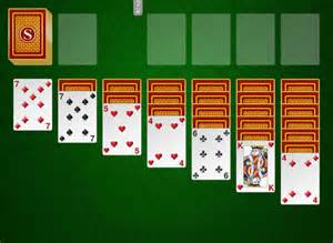 Plain Old Solitaire Card Game