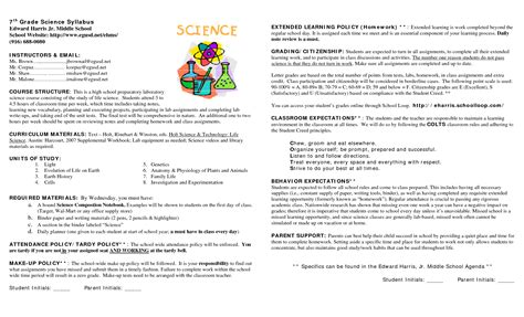 middle school syllabus template 15 awesome syllabus template for middle school images syllabus pinte