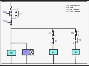 star delta starter power control circuit youtube With using a remote starter switch to bypass the control circuit and