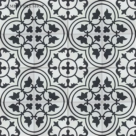 black and white cement tile new patterns in stock cement tile shop