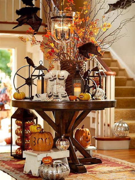 Decorate The Entryway With #pumpkins, Ghouls And Goblins