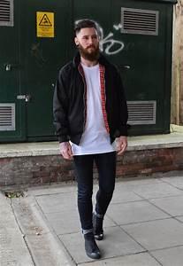 Vintage bomber jacket black