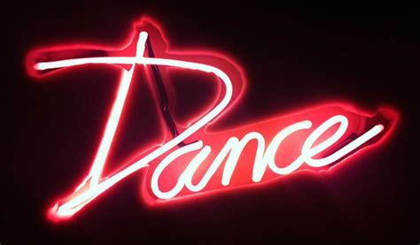 'DANCE' neon sign - ericamcewan