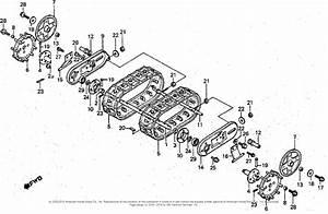 Honda Hs50 Ta Snow Blower  Jpn  Vin  Hs50