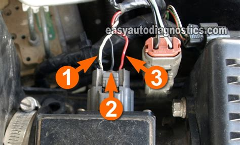 part  mass air flow maf sensor test  nissan maxima