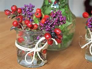 Herbstdeko Aus Der Natur Hagebuttentee Selbermachen