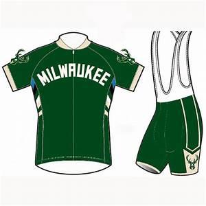Milwaukee Bucks Cycling Jerseys Bib Shorts Bike Garb