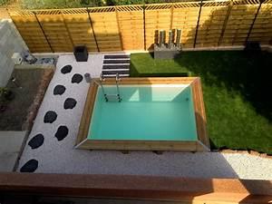 Piscine Hors Sol Bois Petite Dimension : la petite piscine en bois mini piscine vercors piscine ~ Zukunftsfamilie.com Idées de Décoration