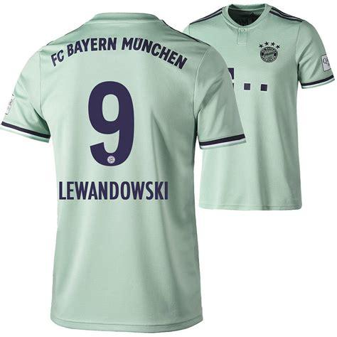 Aktuelle news zum fc bayern münchen: Adidas FC Bayern München Auswärts Trikot LEWANDOWSKI 18/19 ...
