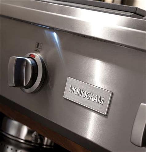 ge monogram  professional gas rangetop   burners  grill natural gas zgunrpss