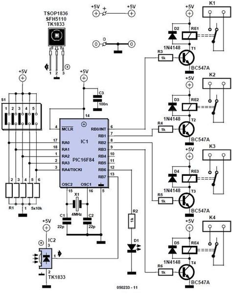 circuit diagram cooking and home