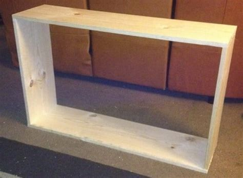 build a sofa table how to build a sofa table easy diy step by step