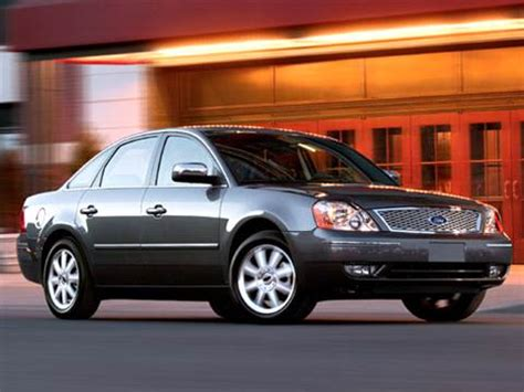 2006 Ford Five Hundred by 2006 Ford Five Hundred Pricing Ratings Reviews