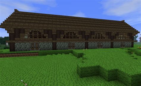 minecraft horse barn - Minecraft Tutorial: How To Make A