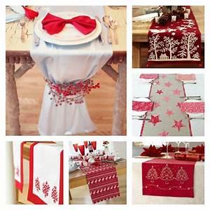 Chemin De Table Design : r ussir sa d coration table de no l rouge et blanc ~ Teatrodelosmanantiales.com Idées de Décoration