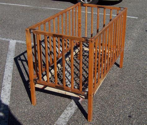 antique baby cribs c005 110714 001 vintage 1950s wooden baby crib 3