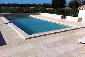 Margelle Piscine Grise : margelle de piscine ~ Melissatoandfro.com Idées de Décoration