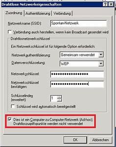 Neues Netzwerk Einrichten : ein ad hoc netzwerk unter windows xp aufbauen ~ Watch28wear.com Haus und Dekorationen