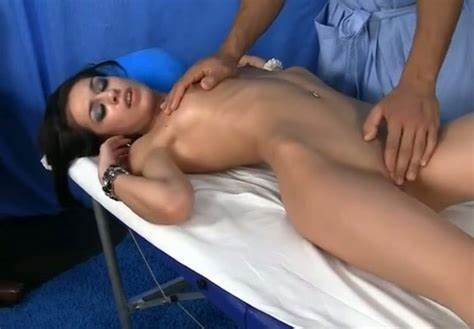 Table Nympho Fingered Smooth Vagina Thin Blondes Enjoying Giant Hand Penetrating Her Hole On