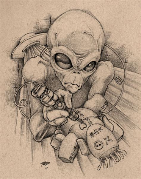 alien tattoo ideas  pinterest ufo tattoo flash tattoos  tattoo flash