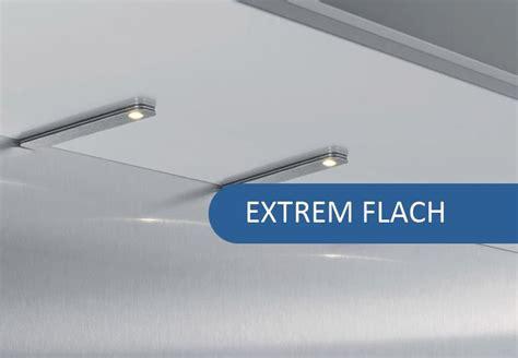 Led Leuchten Küche by Led Unterbaustrahler Flat Sehr Flache Led Leuchten