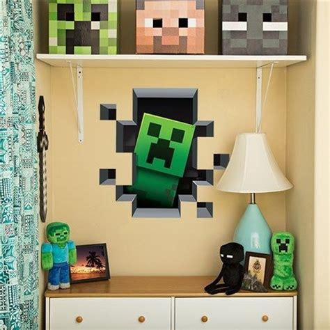 Minecraft Themed Bedroom Wallpaper by 38 Best Kid S Bedrooms Minecraft Theme Images On