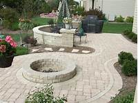 Patio Designs Interesting 17 DIY Fire Pit and Patio Ideas to Try | KeriBrownHomes