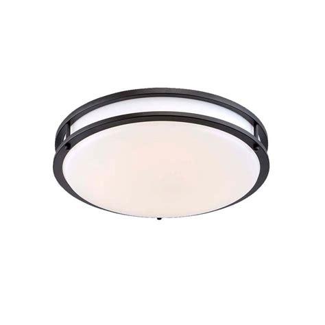 low profile led ceiling light envirolite 14 in brushed nickel white led ceiling low