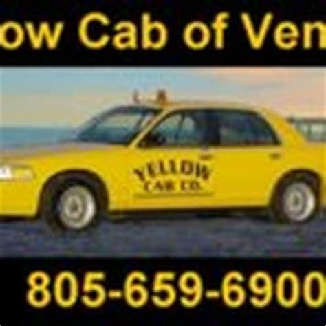 taxi phone number ventura yellow cab taxis 1776 lirio ave ventura ca