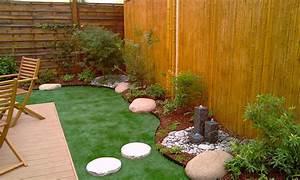 petit jardin japonais zen cobtsacom With amenager un jardin zen