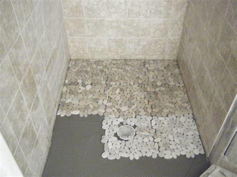pebble tile shower floor designs best tiles flooring