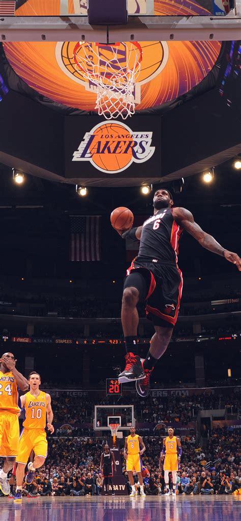 LeBron James Basketball Dunk