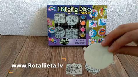 Bērnu zīmēšanas komplekts - Glow in the dark paint set ...