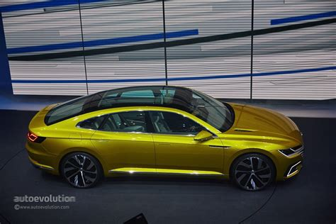 Volkswagen Sports : 2015 Vw Sport Coupe Concept Gte Revealed With V6 Turbo