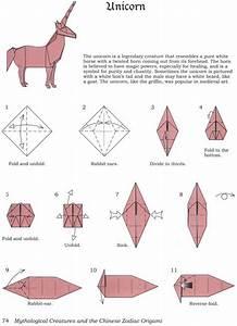 Comment Faire Un Oiseau En Papier : jak zrobi jednoro ca origami na unicorn ~ Melissatoandfro.com Idées de Décoration