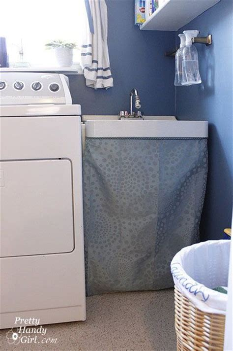 25 best ideas about utility sink skirt on pinterest
