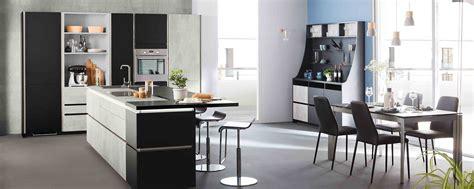 m ier de la cuisine cuisine moderne grise béton design en îlot ambiance fabrik