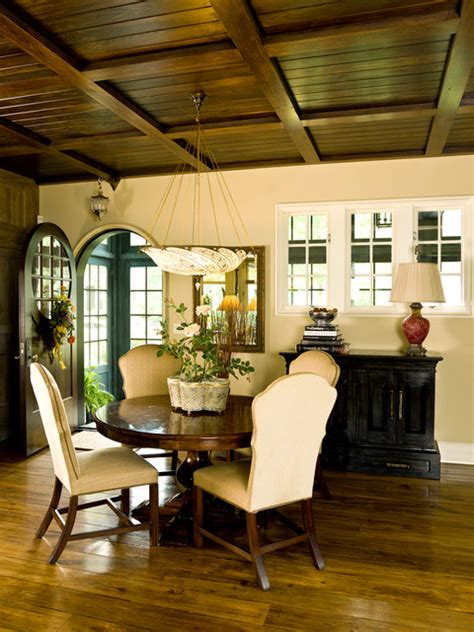 sleek english country dining room design ideas
