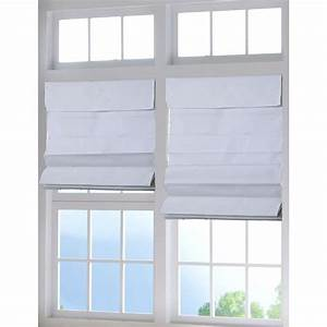 perfect lift window treatment white cordless fabric roman With cordless roman shades for windows