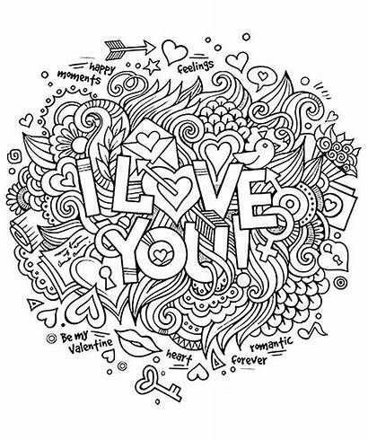 Coloring Quotes Doodle Pages Adult Inspiring Positive